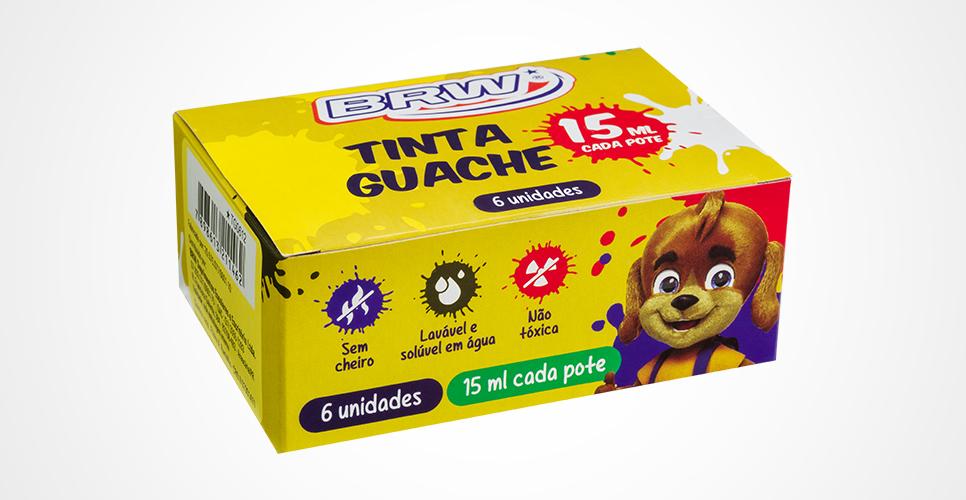 Tinta guache - Brw