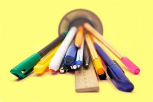 Quais são os tipos de caneta que a sua papelaria tem que ter?