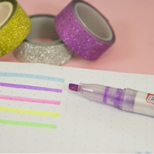 marca-texto glitter